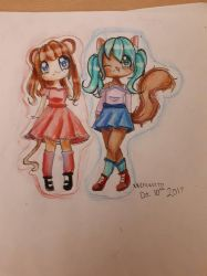 Chipmunk and Mouse  by XxEricaxX777