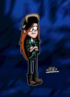 Wendy from Gravity Falls! by CreedStonegate