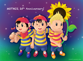 MOTHER 25th by Kosmotiel