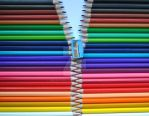 colored pencils zipper by mrjayrules
