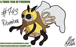 A third year of pokemon: #743 Ribombee