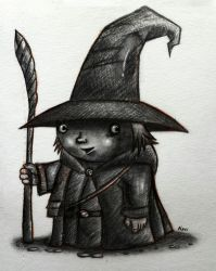 Wicked Potter - Pencil Sketch - WIP by nanideviantart