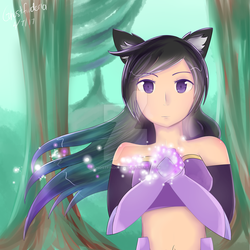 Meif'wa Aphmau [Dreams of Estorra] by Ghostfinder101