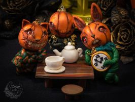 Halloween pumpkins collection by Victoria-Andorina