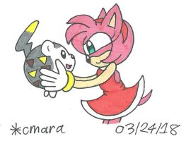 Amy and Togedemaru