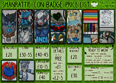 Badge Price Sheet by Rattus-Shannica