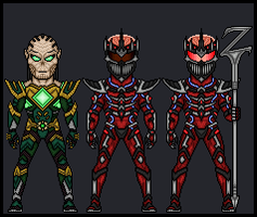 Power Rangers - Lord Zedd by theherocreator