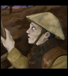 Dawn in the Trenches by MauserGirl