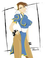 Chun-Li by Oddabeish