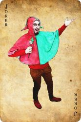 I am a medieval jester by Levon-Harutunyan