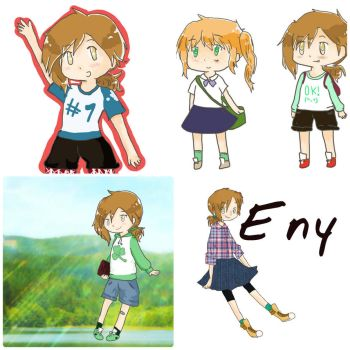 Eny collage by Meloni-chan
