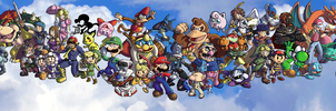 Super Smash Bros. Brawl-OLD- by ChetRippo