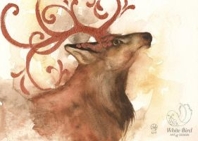 Stag's Autumn by toujin