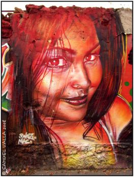 Girl graff by ethankurgan75