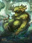 Quiescent Greenman Regular Legend of the Cryptids by MIKECORRIERO