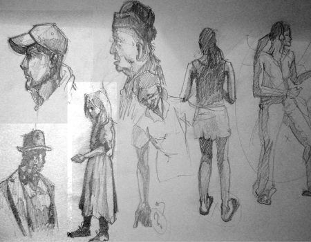 quick sketches 1 by smeetrules