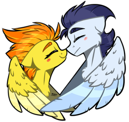 Lovebirds by lRUSU