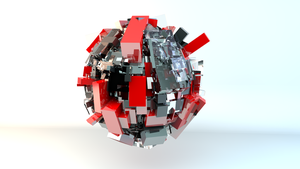 Abstract Sphere by KingJackV