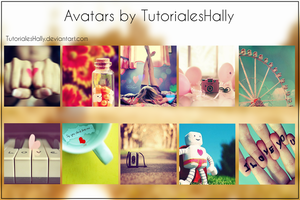 New Avatars by TutorialesHally