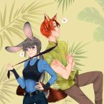 Nic and Judy by SonTyan