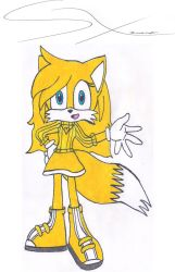 Lemon the Fox for SuperShadeMario by Silverxtreme56