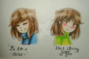 CHARISK | Undertale by Uniquelypeculiar