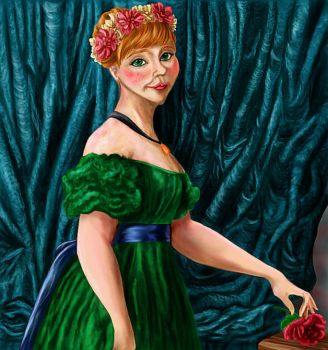 Anna- The picture of sophisticated grace by Kitty-Olenic