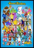 Tribute Hanna Barbera 70s+ 80s by slappy427
