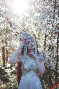 Mistress of the Cherry Orchard II by MariaPetrova