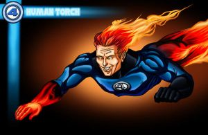 Human Torch by JF3