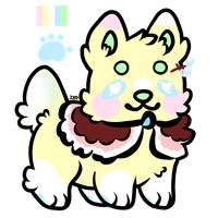 CLOSED : Soft Doggo Adoptable by Violeta-Adopts