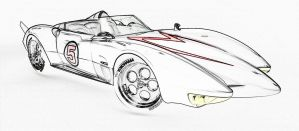 Speed Racer Mach 5 by koldkillakat