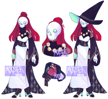 [CLOSED] Halloween [S6]- Witch Auction by MonsterRadio