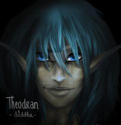 Portrait Theodran by Diddha