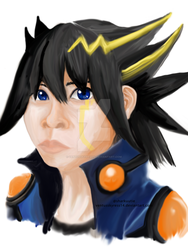 Yusei Fudo by VentusSkyress14