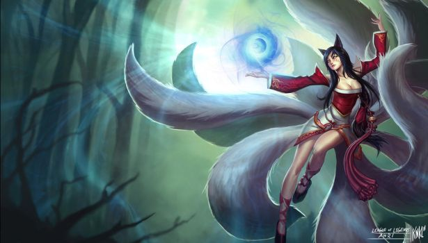 LoL - Ahri by KNKL