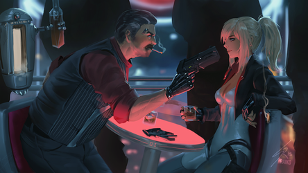 ...And now you come to me and ask me for a favour? by raikoart