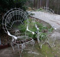 See-through Chairs by annehawholt