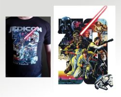 Star Wars T-shirt final by felipemassafera