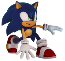 Project Sonic 2017 Render by alsyouri2001
