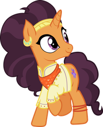 MLP Vector: Saffron Masala by OutlawQuadrant