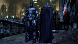 Batman: Arkham City: Batman and Robin Batsuit by CapLagRobin