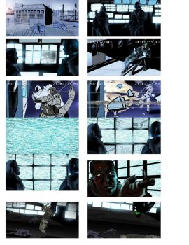 storyboards for splinter cell black list by isaac1210