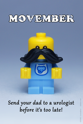 LEGO Movember by Icewalkerman