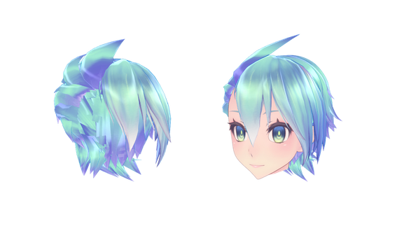 [MMD] TDA Spiked Hair [+DL] by Owth