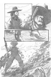 Western Iss1 Pg2 Pencils by RNABrandEnt