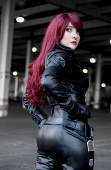 Black Widow - Avengers Cosplay by NashClive