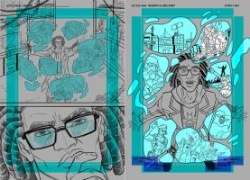 Untitled Comic Project Chapter 2 Pages 1 and 2 by Hominids