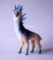 Shishigami - Forest Spirit from Princess Mononoke by miaushka-workshop
