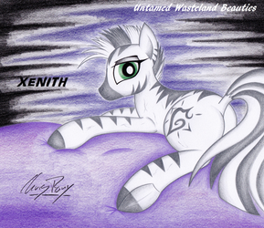 Untamed Wasteland Beauties #3 - Xenith by TheChrisPony